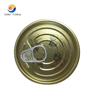 Tinplate Easy Open Cans  With Instruction