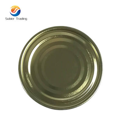 Tinplate End  Lids For Drink Cans 99mm